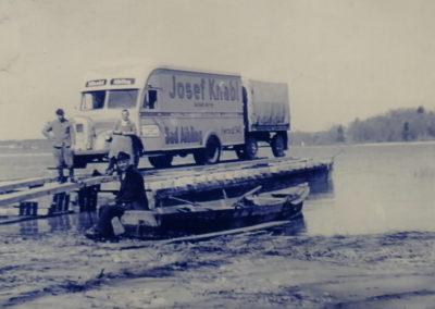Überfahrt auf Herrenchiemsee 1959