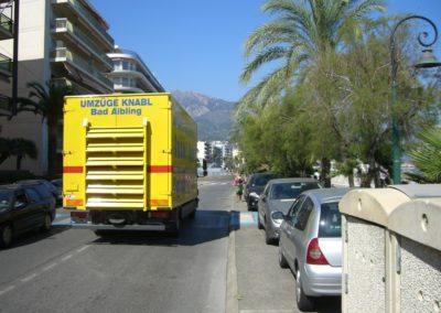 Umzug Monaco - Bad Aibling