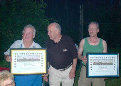 Georg Knabl gratuliert zur 40 und 25jährigen Firmentreue