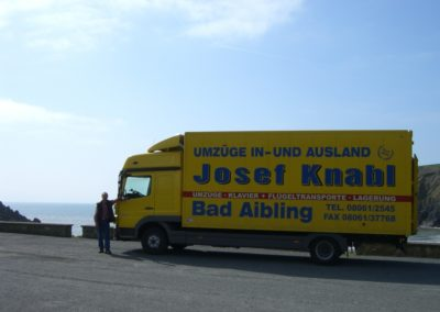 Coastal drive Ireland