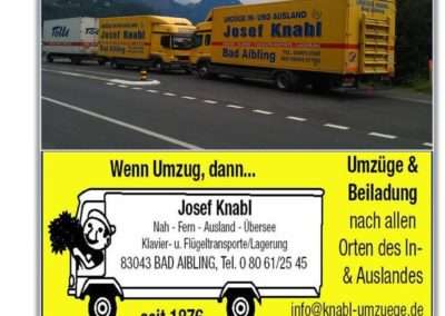 140 Jahre Josef Knabl Bad Aibling