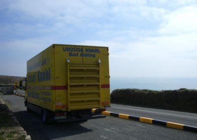 ...auf dem Weg nach Cork (Irland)