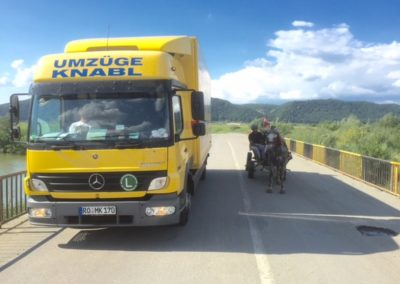 ...auf dem Weg nach Bukarest, Rumänien