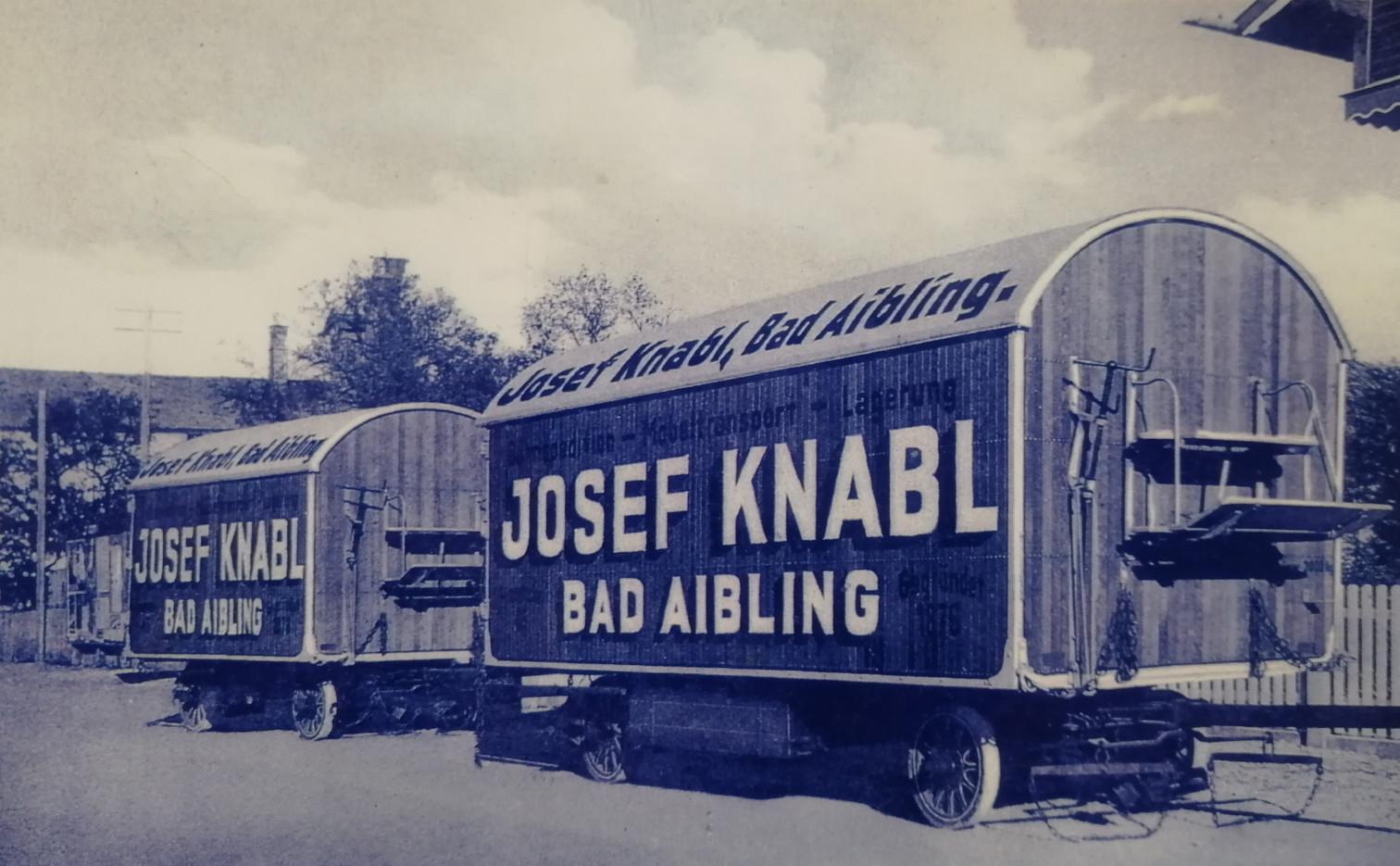 Knabl Umzugsunternehmen Geschichte